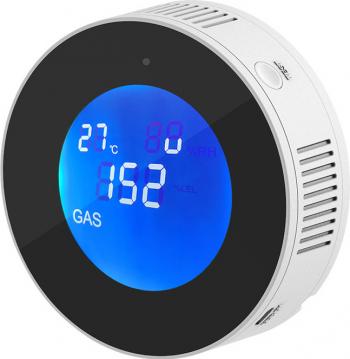 Detector scurgeri de gaz WiFi compatibil Tuya si Smartlife