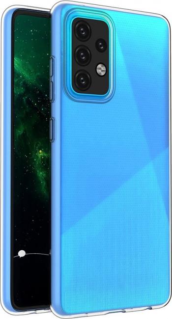 Husa Spate Slim Upzz Pentru Samsung Galaxy A52 5g 0.5mm Grosime Silicon Transparenta