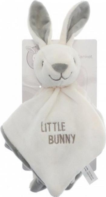 Jucarie cu paturica iepuras Little Bunny