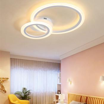 Lustra LED Creative Rings 3 Corpuri de iluminat