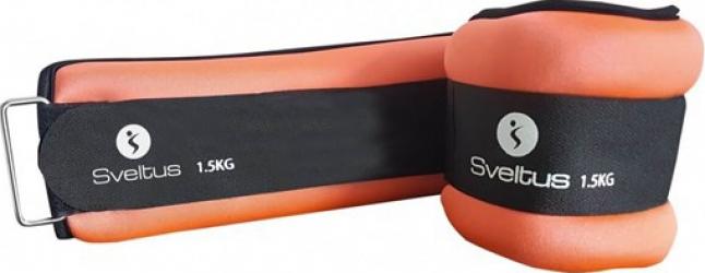 Set greutati incheieturi-glezne 2 x 1.5kg Sveltus Accesorii fitness