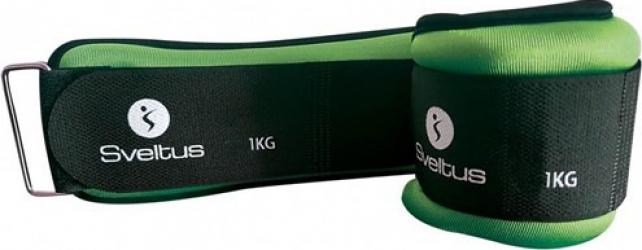 Set greutati incheieturi-glezne 2x1kg Sveltus Accesorii fitness