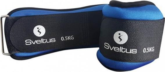 Set greutati incheieturi-glezne 2x500g Sveltus Accesorii fitness