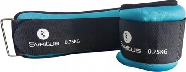 Set greutati incheieturi-glezne 2x750g Sveltus Accesorii fitness