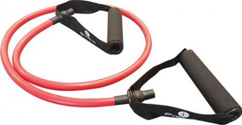 Tub elastic antrenament - Rosu - Sveltus Accesorii fitness