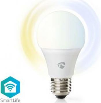 Bec LED Smart Wi-Fi Nedis E27 2700-6500K 800 lm Corpuri de iluminat