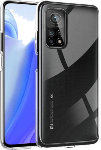 Husa Spate Slim Upzz Pentru Xiaomi Mi 10t 5g / Mi 10t Pro 5g 0.5mm Grosime Silicon Transparenta Huse Telefoane