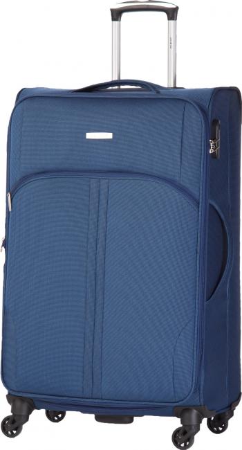 Troler Lamonza Allure 77x46x30 cm 3.15 kg expandabil 30 albastru Trolere