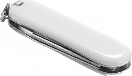 Briceag multifunctional metal cu 5 functii Dalimag 59 x 17 x 8 mm alb