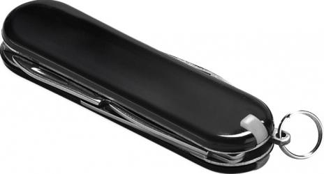 Briceag multifunctional metal cu 5 functii Dalimag 59 x 17 x 8 mm negru Camping si drumetii