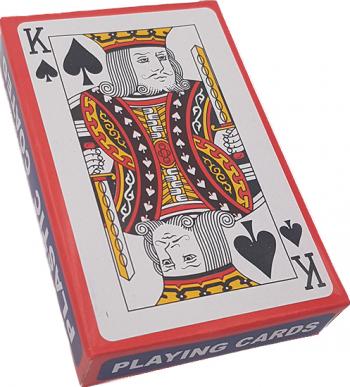 Carti de joc dalimag 52+2 plastic