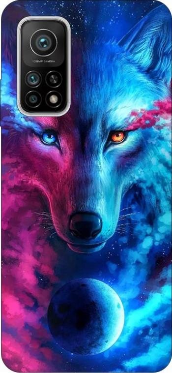 Husa Silicon Soft Upzz Print Compatibila Cu Xiaomi Mi 10t / Mi 10t Pro Model Wolf Huse Telefoane
