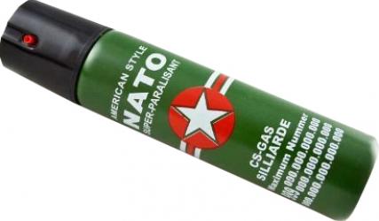 Spray paralizant iritant lacrimogen autoaparare cu piper NATO Dalimag husa 60 ml in cutie