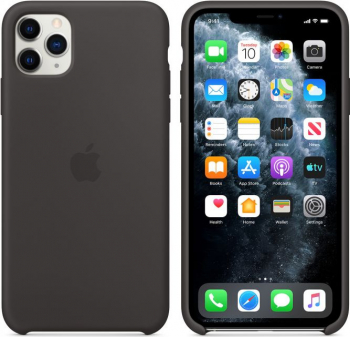 Husa Originala Silicone Case APPLE iPhone 11 Pro Max alb Huse Telefoane