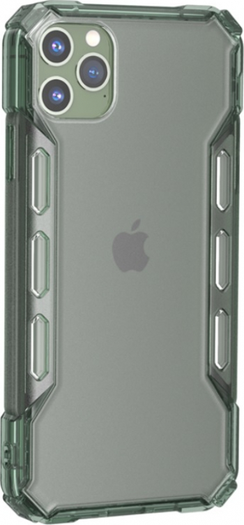 Husa rezistenta antisoc iPhone 11 Pro Max Kaki Huse Telefoane