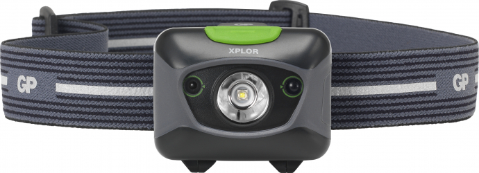Lanterna frontala LED GP XPLOR PHR15 300lm IPX6 Corpuri de iluminat
