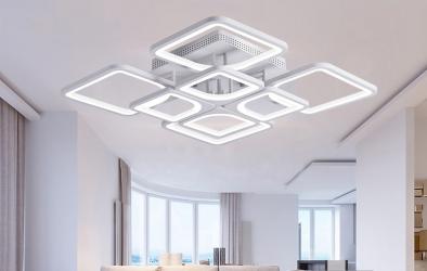 Lustra LED Creative Ceiling 8 Corpuri de iluminat