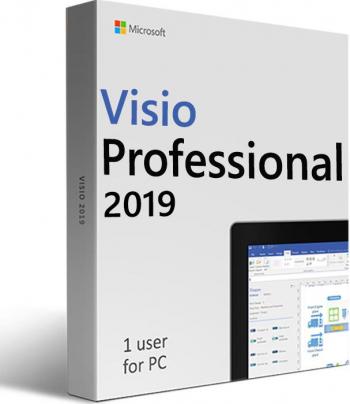 Visio Professional 2019 - 32/64 bit - permanenta - oferim asistenta