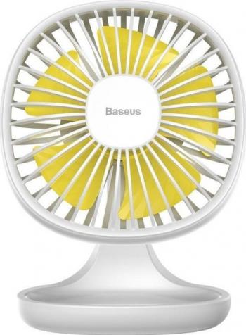 Ventilator de birou universal Baseus Pudding Shaped Alb Ventilatoare