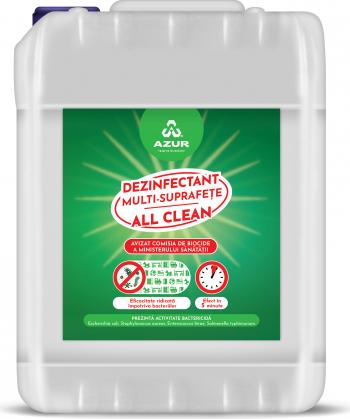 Dezinfectant multi-suprafete All Clean 10L Articole curatenie si igiena
