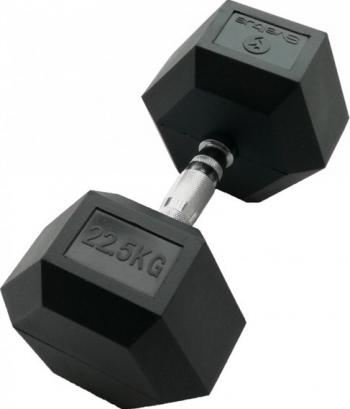 Gantera hexagonala 22.5kg - Dumbbell Accesorii fitness