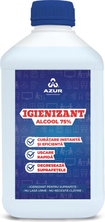 Igienizant suprafete alcool 75 1L Articole curatenie si igiena