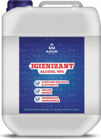 Igienizant suprafete alcool 75 5L Articole curatenie si igiena