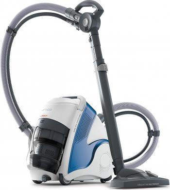 Aspirator Polti Unico MCV 8o Total Clean and Turbo Filtrare Multiciclonica 5 Stadii Functie Igienizare Abur si Uscare 2200 W Filtru Hepa Aspiratoare