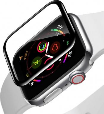 Folie Apple Watch 4 40mm Full Screen Soft Curbata Baseus 0.2mm