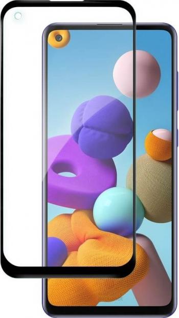 Folie Samsung Galaxy A21s Wozinsky Nano Flexi Glass Cu Rama Negru Folii Protectie
