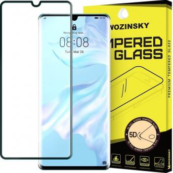 Folie Sticla Securizata 5D Super - Rezistenta Huawei P30 Pro Negru Folii Protectie