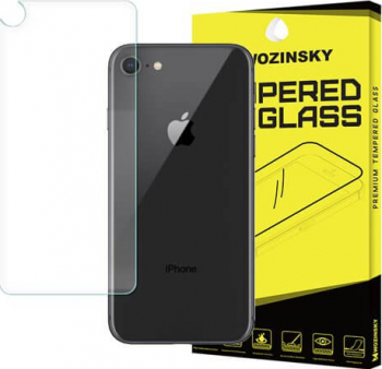 Folie Sticla Securizata 9H PRO Pentru Spate - iPhone 8 / 7