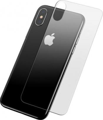 Folie Sticla Securizata Baseus Acoperire Spate - iPhone XS Max Transparent