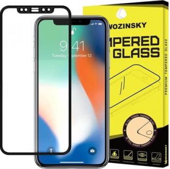 Folie Sticla Securizata Premium 5D super rezistenta - Wozinsky PRO+ iPhone XS Max Negru