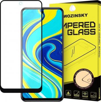 Folie Xiaomi Redmi Note 9 Pro / Redmi Note 9S / Poco X3 NFC Sticla Securizata 9H Cu Rama Super Rezistenta Case Friendly Negru Folii Protectie