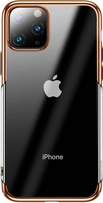 Husa de protectie Baseus Glitter iPhone 11 Pro TransparentAuriu Huse Telefoane