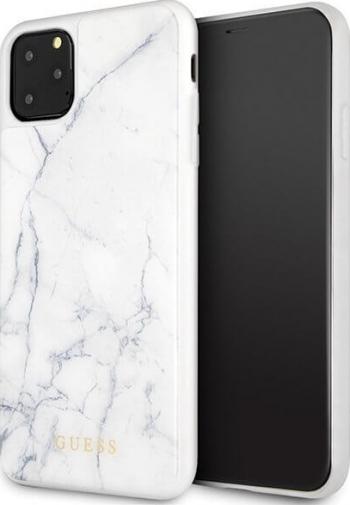 Husa Guess iPhone 11 Pro Max Marble Marmura Alb Huse Telefoane