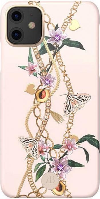 Husa iPhone 11 Cristale Originale Swarovski Kingxbar Luxury Series Roz Huse Telefoane