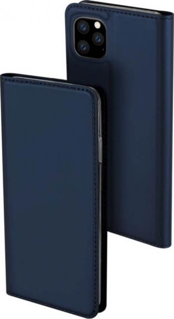 Husa iPhone 11 Pro Flip  Book Buzunar Card Piele DUX DUCIS Albastru Huse Telefoane