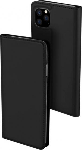 Husa iPhone 11 Pro Flip  Book Buzunar Card Piele DUX DUCIS Negru Huse Telefoane