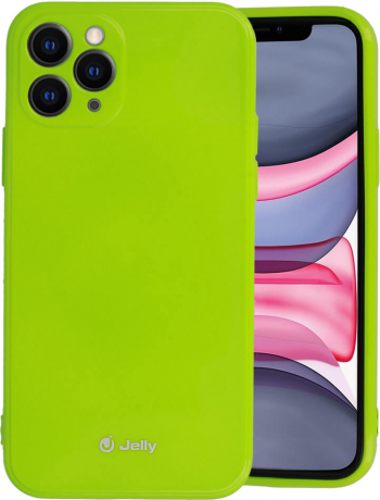 Husa iPhone 11 Pro Jelly Case Lime Huse Telefoane
