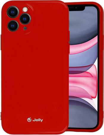 Husa iPhone 11 Pro Jelly Case Rosu Huse Telefoane