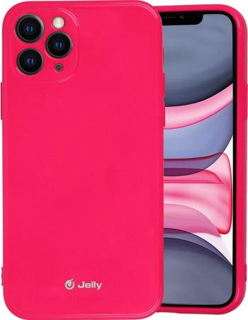 Husa iPhone 11 Pro Jelly Case Roz Inchis Huse Telefoane
