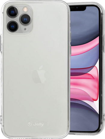 Husa iPhone 11 Pro Jelly Case Transparent Huse Telefoane