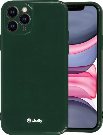 Husa iPhone 11 Pro Jelly Case Verde Inchis Huse Telefoane