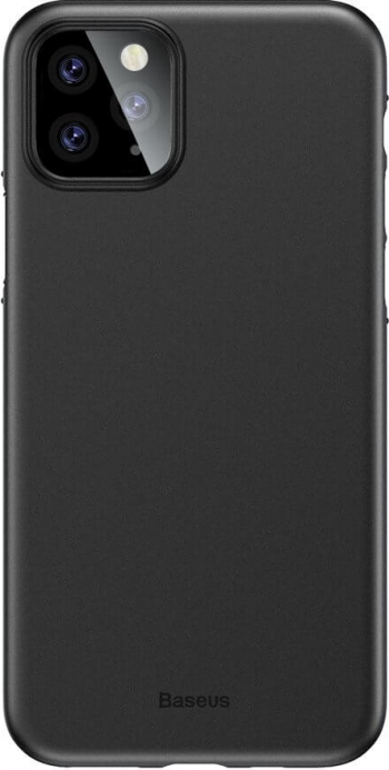 Husa iPhone 11 Pro Max Baseus Wing Ultra - Subtire Mat Negru Huse Telefoane