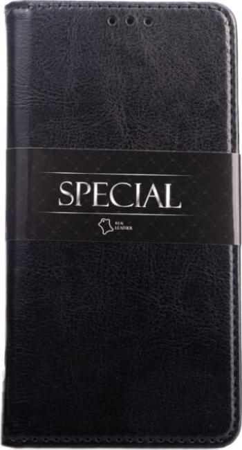 Husa iPhone 11 Pro Piele Naturala  Genuine Leather Flip  Book  Carte Buzunar Card si Functie Stand Negru Huse Telefoane
