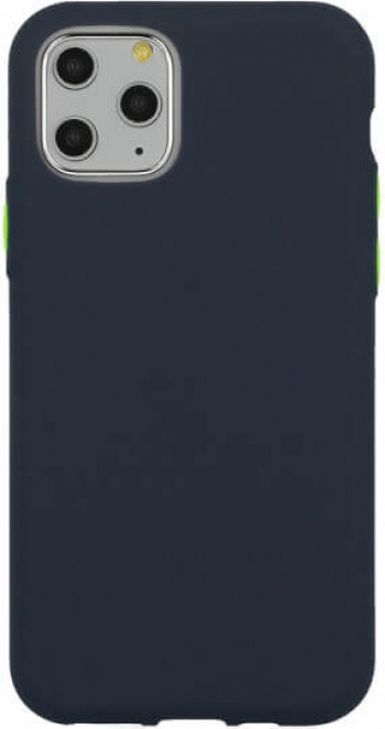 Husa iPhone 11 Pro Silicon Solid Albastru Huse Telefoane