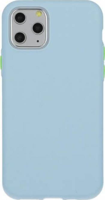 Husa iPhone 11 Pro Silicon Solid Albastru Deschis Huse Telefoane