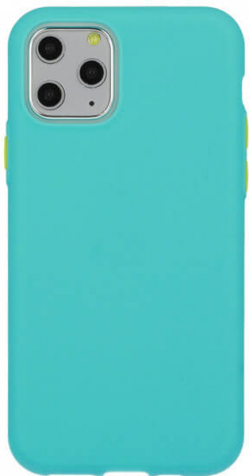 Husa iPhone 11 Pro Silicon Solid Verde Huse Telefoane